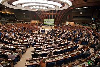 Parliamentary Assembly of the Council of Europe - Image: Session of the Congress
