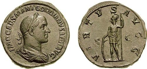 Sestertius Gordian II-RIC 0008