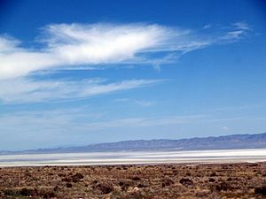 Sevier Lake - Image: Sevier Dry Lake 2009 By Phil Konstantin