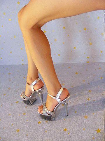 porn high heels hot dog stellung