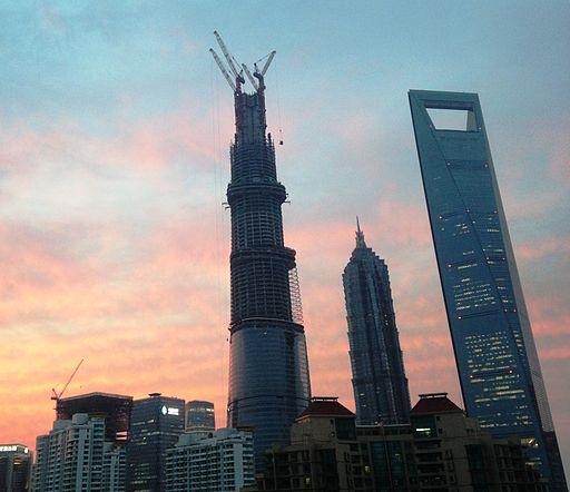 Shanghai Three towers