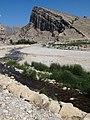 Shapur River with Mountain Backdrop - Bishapur - Southwestern Iran (7424866312).jpg