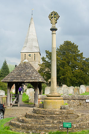 Shere Church, located in Shere, Surrey, United...