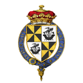 Shield of Arms of John Campbell, 9th Duke of Argyll, KG, KT, GCMG, GCVO, VD, PC.png