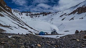 Shilla Col - Shilla Col Base Camp (5400m)