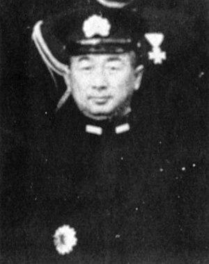 Shōji Nishimura - Japanese Vice Admiral Shōji Nishimura