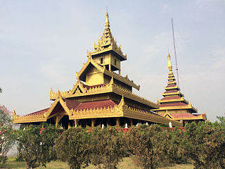 Shwebo City in Sagaing Region, Myanmar