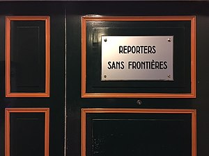 Reporters Without Borders - Head office, Paris