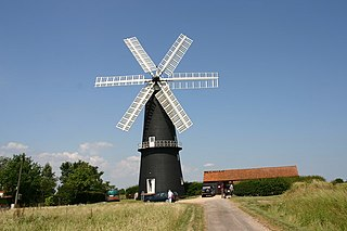 Sibsey Trader Mill windmill in East Lindsey, England