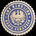 Siegelmarke Amt Rickling - Kreis Segeberg W0259810.jpg