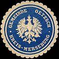 Siegelmarke Gemeinde Oetzsch - Kreis Merseburg W0313878.jpg