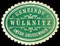 Siegelmarke Gemeinde Wülknitz - Amtshauptmannschaft Grossenhain W0252917.jpg