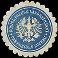 Siegelmarke K.Pr. Landrathsamt des Kreises Luckau W0356158.jpg