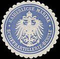Siegelmarke K. Marine Schiffsartillerie-Schule W0357432.jpg