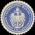 Siegelmarke Kommando S.M.S. Gneisenau W0320321.jpg