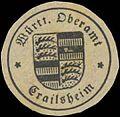 Siegelmarke Württ. Oberramt Crailsheim W0390493.jpg