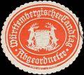 Siegelmarke Württembergischer Landtag Abgeordneter W0368057.jpg