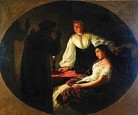 Siemiradzki Noc-Andrzeja 1867