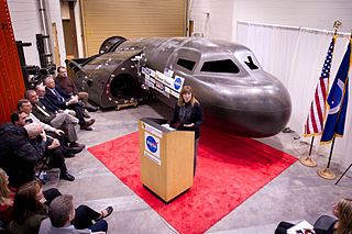 Sierra Nevada's Dream Chaser spacecraft