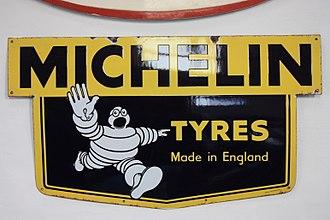 Michelin Man - The Michelin Tyre Man