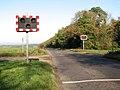 Signals on Chalk Lane, near RAF Marham.jpg