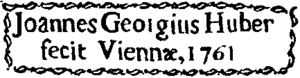 Signature Johann-George Huber - 1761 - T2p239.png