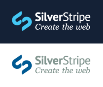 SilverStripe - Image: Silver Stripe logo create the web