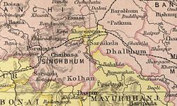 Singhbhum district  Wikipedia