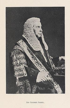 George Jessel (jurist) - Image: Sir George Jessel