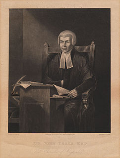 John Leach (judge) British politician