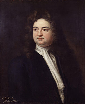 Richard Steele - Portrait of Sir Richard Steele