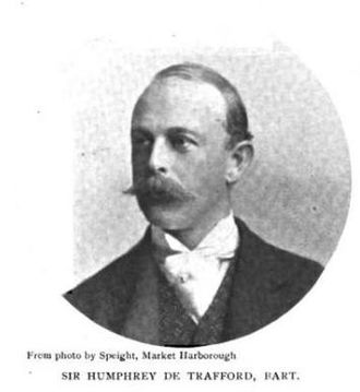 Sir Humphrey de Trafford, 3rd Baronet - Among Sir Humphrey's interests was dog breeding. This portrait was printed in the 1902 book Dog Shows and Doggy People.