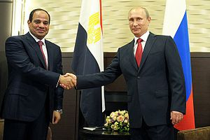 Egypt–Russia relations - Sisi and Putin meeting on 16 August 2014