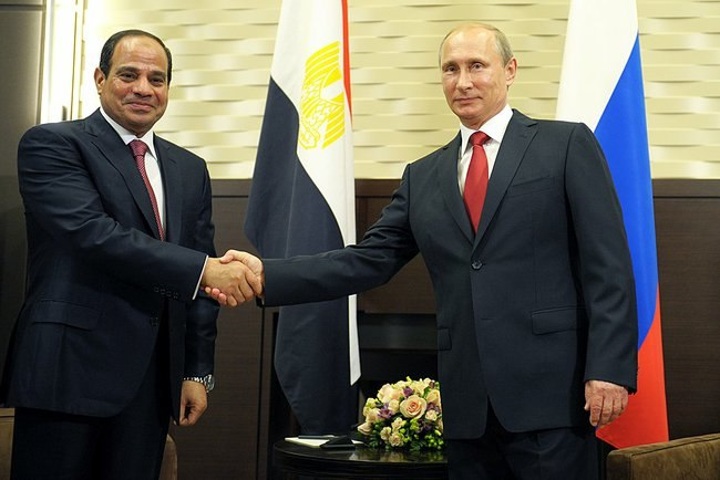 Sisi and Putin meeting on 16 August 2014 (1)