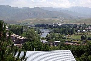 Vorotan (river) - Vorotan River in Sisian