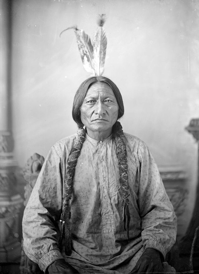 1882 One Bull PHOTO Battle of Little Bighorn Indian,Sitting Bull Nephew Lakota
