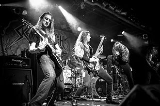 Skeletonwitch - Skeletonwitch playing in Munich, 2014