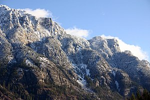 Creston, British Columbia - Skimmerhorn Mountains in Creston