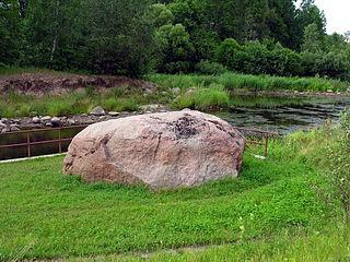 Virvyčia. Skleipių akmuo. Foto:Algirdas at lt.wikipedia