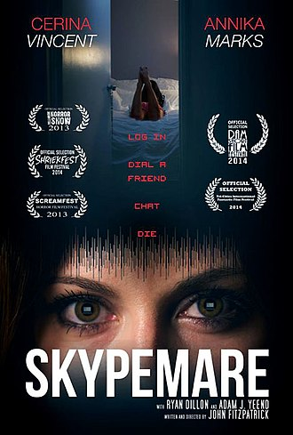 Skypemare - Image: Skypemare Release Poster