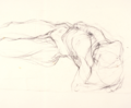 Sleeping figure drawing by Christopher Willard.png