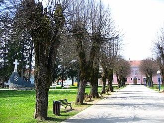 Slunj - Image: Slunj, park