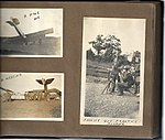 Snapshots of men and aircraft at Camp Mohawk, one of the Royal Flying Corps' pilot training camps near Deseronto, Ontario. The crashed aircraft in the lower left photograph have the numbers C275 and (6079347863).jpg