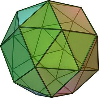 Snub cube Archimedean solid