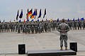 Soldiers of the 12th Combat Aviation Brigade stand in formation during the brigade change of command ceremony at Katterbach Army Airfield, Bavaria, Germany, June 28, 2013 130628-A-WP262-008.jpg