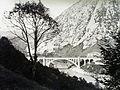 Solkan (ekkor önálló, ma a város része), Solkan-híd az Isonzó folyón. Fortepan 86228.jpg