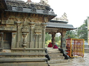 Kurudumale - Image: Someshvara temple at Kurudumale (profile)