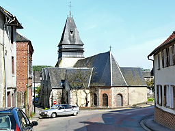 Songeons - Eglise - Chevet.JPG