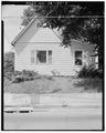 South front - 2019 Woodland Avenue (Cottage), Des Moines, Polk County, IA HABS IOWA,77-DESMO,30-2.tif