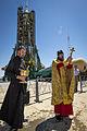 Soyuz TMA-09M rocket blessing.jpg